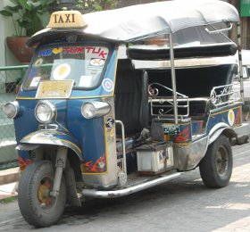 Thailand tuk-tuk