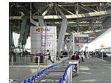 Arriving at Bangkok Airport (Suvarnabhumi)