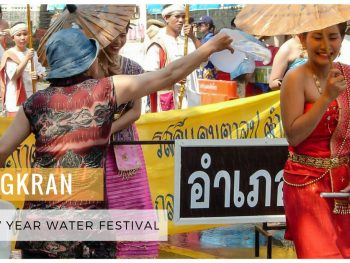Songkran Thai New Year Water Festival