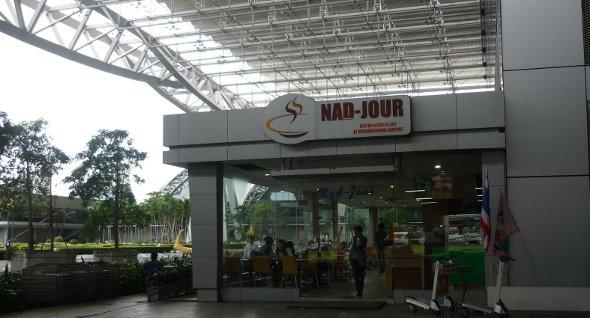 Bangkok airport restaurant
