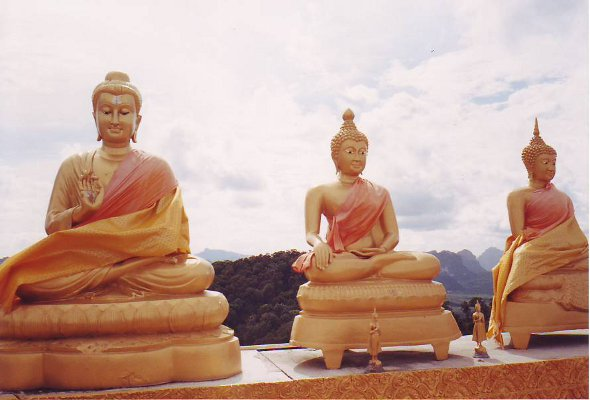 Wat Tham Seua (Tiger Cave Temple), Krabi