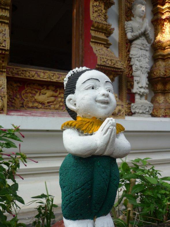 The Thai wai