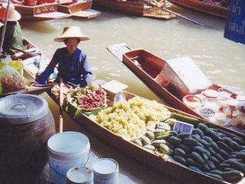 Bangkok Floating Market, Damnoen Saduak