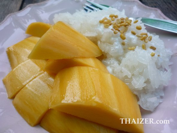 Mango and sticky rice, Thailand