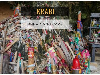 Phra Nang Cave and Beach (Princess Cave), Railay, Krabi