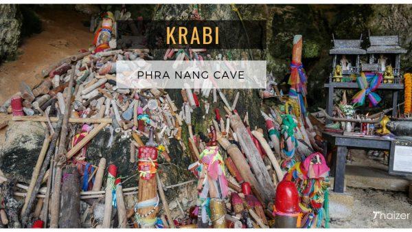 Phra Nang Cave and Beach (Princess Cave), Railay, Krabi