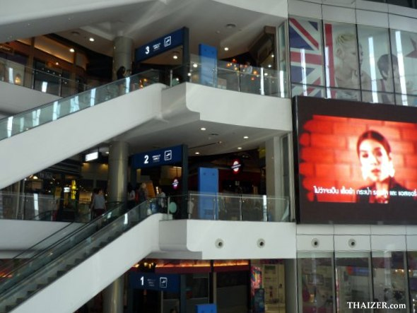 Terminal 21 shopping mall, Bangkok