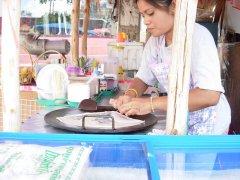 Roti vendor in Ao Nang, Krabi, Thailand