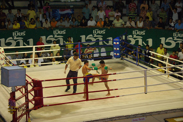 Muay Thai bout