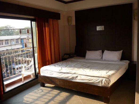 bedroom at the Royal Asia Lodge, Hua Hin
