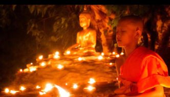 Asahna Bucha Day in Thailand