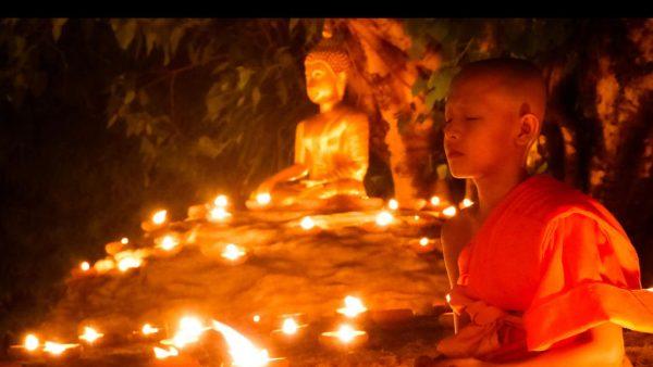 Asahna Bucha Day in Thailand