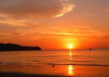 Sunset on Kamala Beach, Phuket