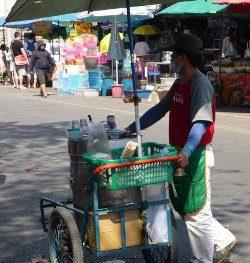 Ice cream vendor, Thailand