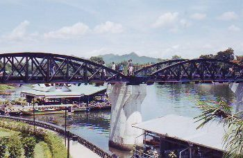 Bridge on River Kwai, Kanchanaburi, Thailand
