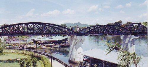 Bridge on River Kwai, Kanchanaburi, Thailand