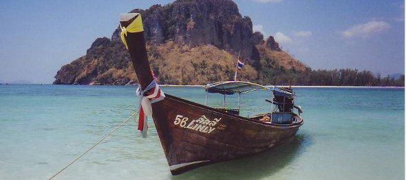 Longtail boat, Krabi, Thailand