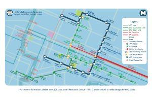 map of Bangkok metro route