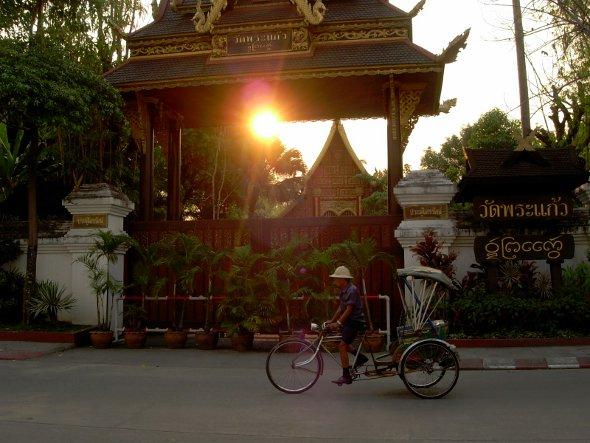 Sunset in Chiang Rai