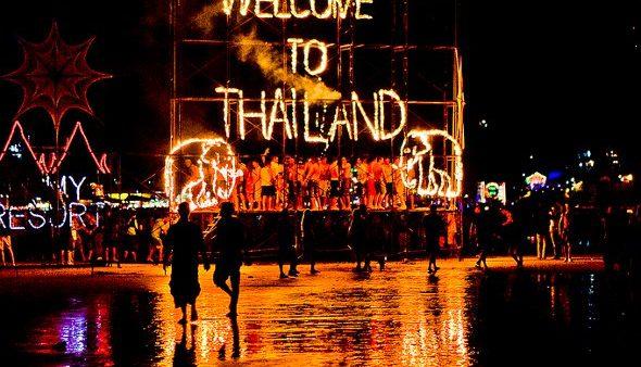 Full Moon Party, Ko Pha Ngan, Thailand