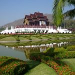 Royal Pavilion at Royal Flora Ratchaphruek, Chiang Mai