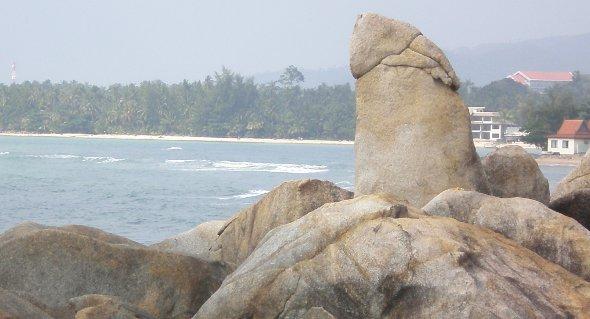 Hin Ta (Grandfather Rock) Ko Samui