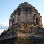 Ancient pagoda at Wat Chedi Luang in Chiang Mai