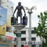The Cavemen Traffic Lights of Krabi Town