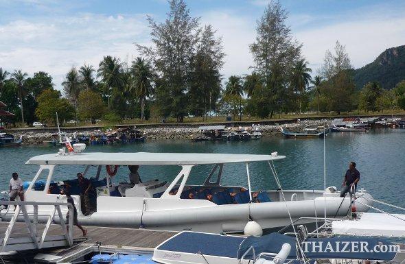 Speedboat from Telaga Harbour Langkawi to Ko Lipe, Thailand