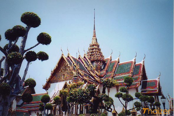 Wat Phra Kaeo (Temple of the Emerald Buddha) and Grand Palace, Bangkok