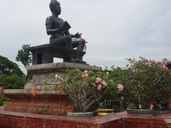 statue of King Ramkhamhaeng the Great at Sukhothai Historical Park