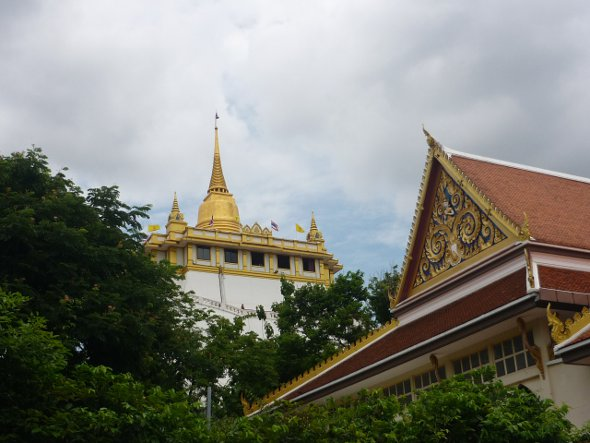 Wat Saket with the Golden Mount in the background