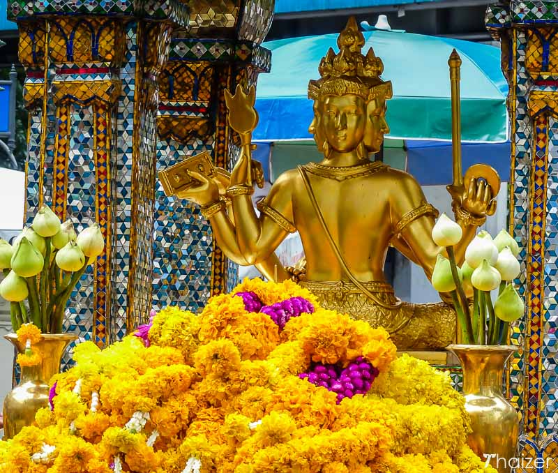 Erawan Shrine in Bangkok