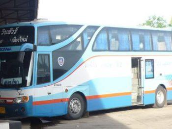 Win Tour bus Chiang Mai to Sukhothai