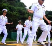 Royal Thai Navy show off their Gangnam Style dance moves in Phuket