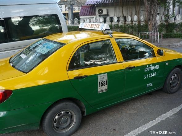 Bangkok taxi-meter