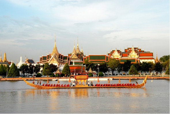 Royal Barge Procession in Bangkok