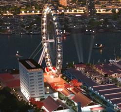 Sky Wheel at Asiatique the Riverfront, Bangkok