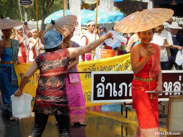 Songkran New Year Water Festival