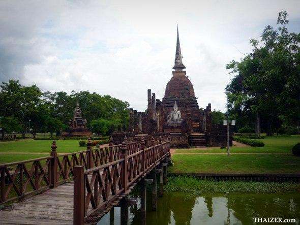 Wat Sa Si, Sukhothai Historical Park