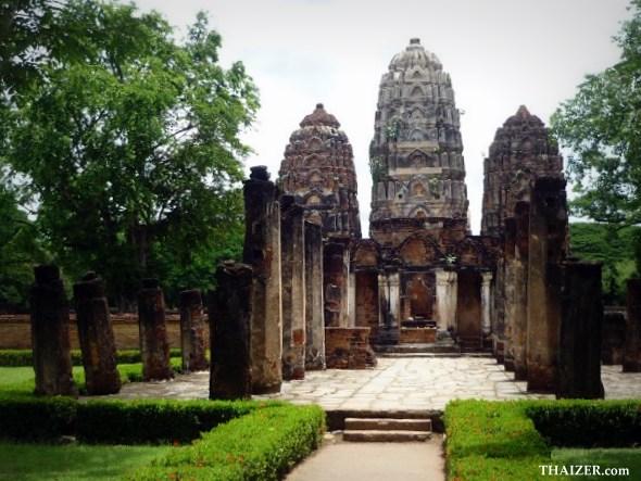 Wat Si Sawai in Old Sukhothai