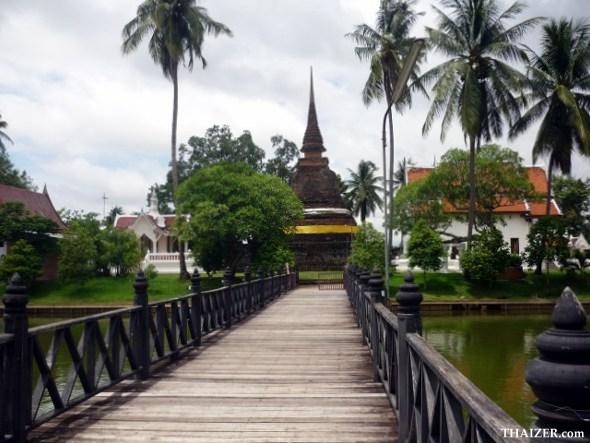 Wat Traphang Tong, Old Sukhothai