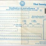 Arrival and Departure Cards for Thailand