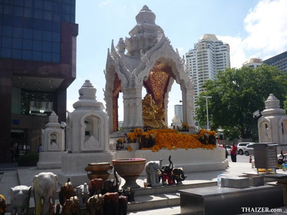 Ganesh shrine at Central World in Bangkok