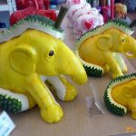 elephant and durian