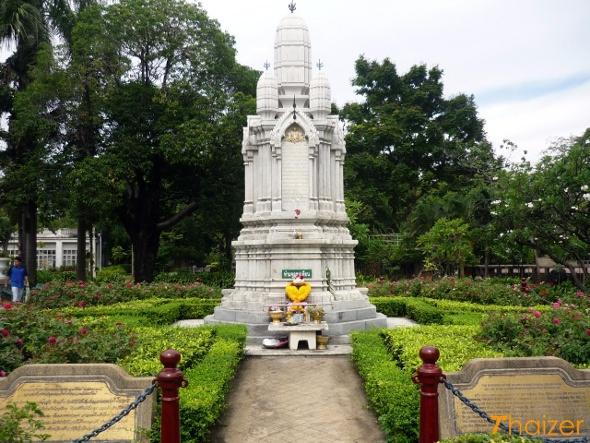 Royal memorial at Saranrom Garden, Bangkok