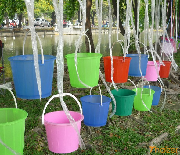 Songkran buckets