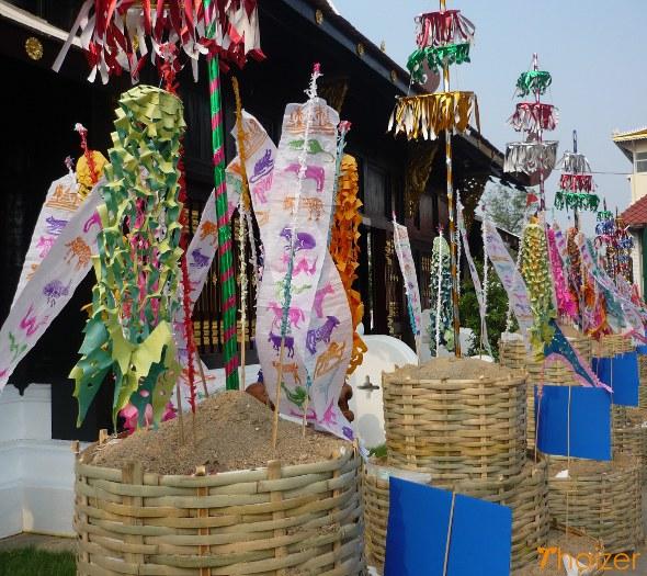 SongkranSandPagodas