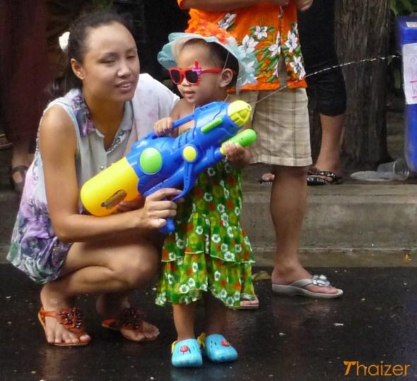 Songkran water gun