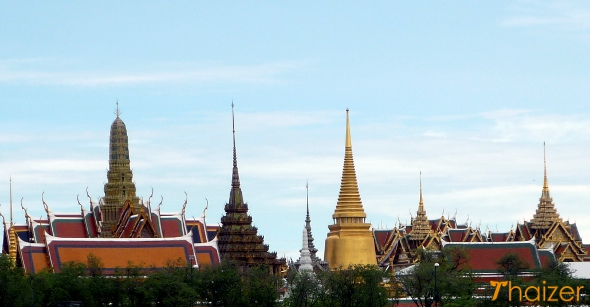 Grand Palace and Wat Phra Kaeo, Rattanakosin Island (Old Bangkok)